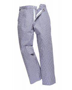 Chef's Checked Trousers (Waist Size: 76/30) [7000]