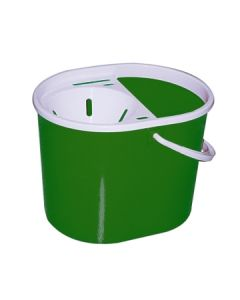 Mop Bucket Oval 15L Green [7107]