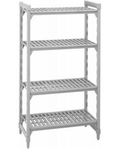 Camshelving Mobile 1400 x 400 x 1690 4 Tier Shelves [7904]