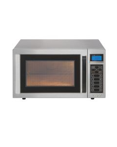 Burco Stainless Steel 1000W Semi-Commercial Microwave [7956]