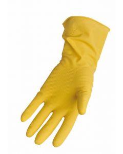 Household Latex Glove Box of 12 Pairs Pack of 2 [91886]