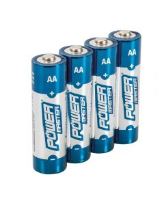 Batteries AA 1.5V Pack of 4 Alkaline [45015]