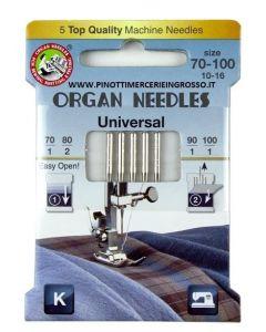 Organ Universal 70-100 Needles Pack of 5 [45423]