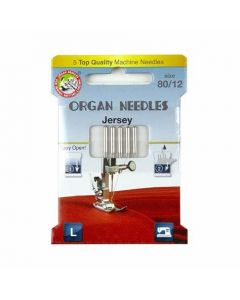 Organ Jersey 80-12 Needles Pack of 5 [45425]