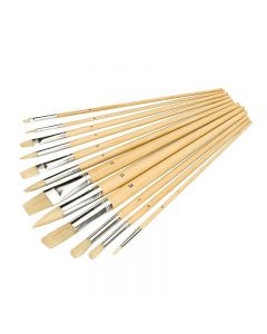 Artists Paint Brush 12 Piece Set [4584]