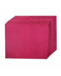 Aluminium Oxide Hand Sheets Pack of 10 (80 Grit) [4685]