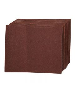 Aluminium Oxide Hand Sheets Pack of 10 (60 Grit) [4720]