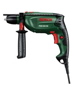 BOSCH Percussion Drill - PSB-650-RE, 240v [4806]