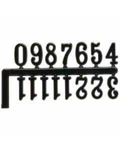 Clock Numerals Set - Black [4887]