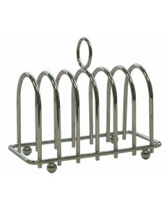 Chrome Horseshoe 6 Slice Toast Rack [777362]