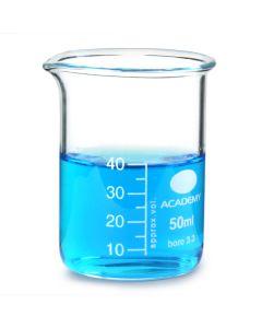 Academy Borosilicate Glass Beakers 600ml Pack of 10 [98066]