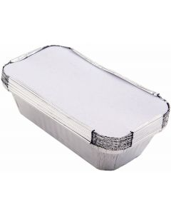 Foil Containers/Foil Trays 18.5 x 10 x 6cm Pack of 500 [977047]