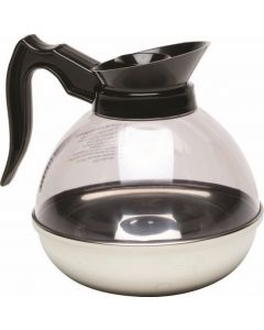 Coffee Decanter Clear Top/S.Steel Base 1.9L/64oz [777098]