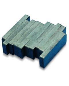 Block Magnets - Ferrite Pack of 10 50 x 19 x 6mm [2286]