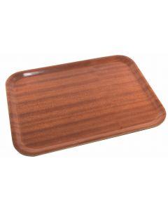 Darkwood Mahogany Tray 600 x 450mm [777943]