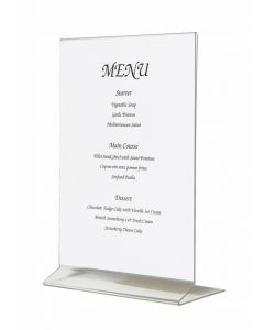 Acrylic Menu Holder A5 Size [778347]