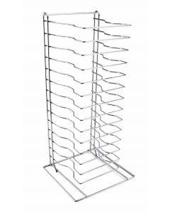 Genware Pizza Rack/Stand 15 Shelf [778559]