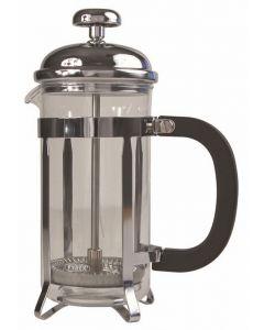 Cafetiere Chrome Pyrex 48oz 1.5 Litre 12 Cup [778764]