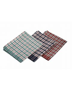 Mini Check T-Towel 43 x 68cm 10 Pieces Mix Colours [778834]