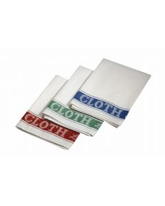 Linen Union Glass Cloth (Tea Towels) 51 x 76cm 5 Pieces [778838]