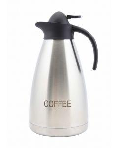 Coffee Inscribed S.Steel Contemporary Vac. Jug [778859]