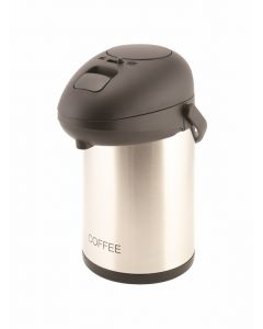 Coffee Inscribed S.Steel Vacuum Pump Pot 2.5L [778868]