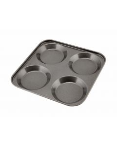 Carbon Steel Non Stick 4 Cup Yorkshire Pudding Tray [778908]