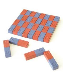 Bar Magnets Large - Ferrite Pack of 20 14 x 10 x 50mm [2294]