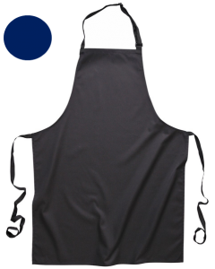 Bib Apron with Pockets Navy [7371]