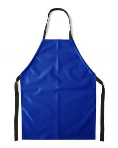 Flame Retardant Aprons Blue, Large (92cm) [45063]