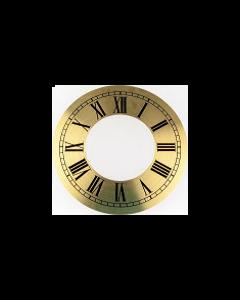 Clock Dial Circular Brass 150mm [45214]
