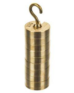 Mass Brass Set Incl. Hanger 9 x 10g & 10g Hanger [0356]