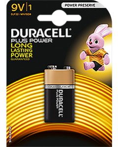 Batteries 9V Duracell [2125]