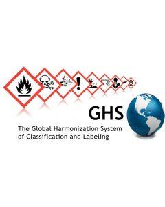 Hazard Warning Labels GHS Premium - Toxic [2004]