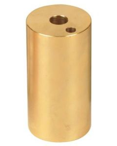 Calorimeter Heating Block Brass 86 x 44mm Dia. [ 0599]