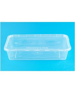 Freezer, Microwave Tubs, Pack of 50 165 x 115 x 75mm [7364]