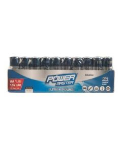 Batteries AA 1.5V Pack of 40 Alkaline [4972]