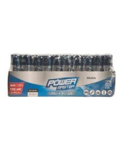 Batteries AAA 1.5V Pack of 40 Alkaline  [4971]