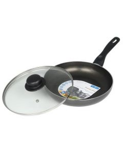 Fry Pan (Frying Pan) & Lid 26cm [7928]