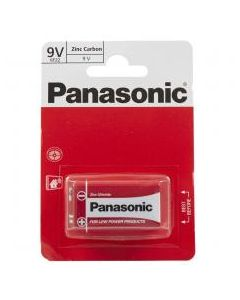 Batteries 9V Panasonic Pack of 1 [1914]