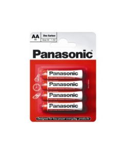Batteries AA Pack of 4  Panasonic [1915]