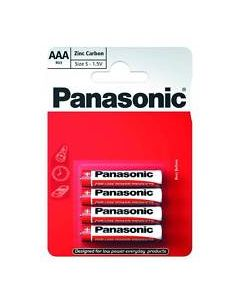 Batteries AAA Pack of 4 Panasonic [1917]