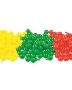 Poppit Beads Pack of 200 Green [0427]