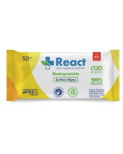 Anti-bacterial Surface Wipes Pk of 50 [80450]