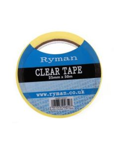 Clear Tape 25mm x 50M [Prd 3058]