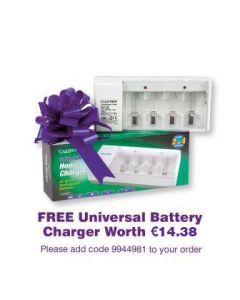 Universal Battery Charger FREE GIFT [9944981]