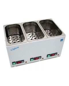 Clifton Digital Triple Chamber Water Bath 3 x 4L [1986]